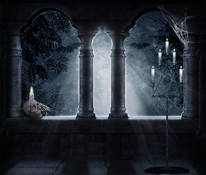 Macabre window