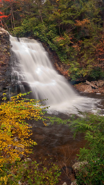 Muddy Creek Falls (Maryland's highest waterfall)<br /> Swallow Falls State Park, near Oakland, MD
