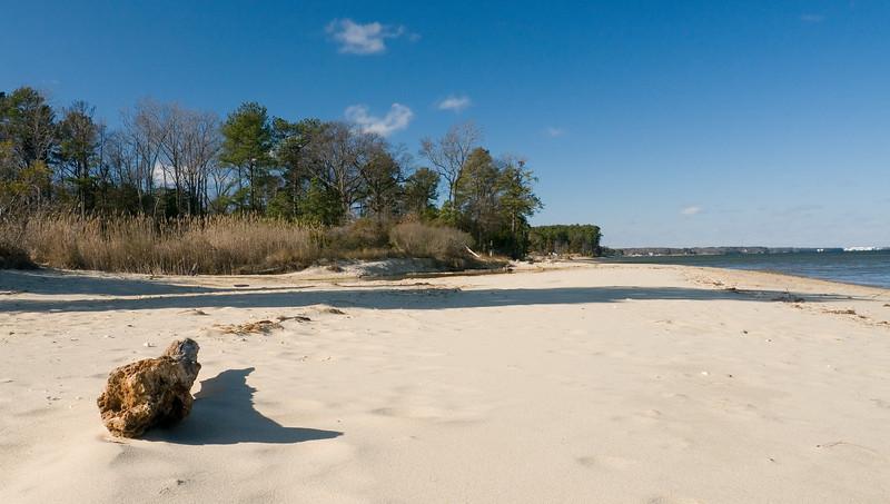 Winter by the Chesapeake Bay<br /> Elm's Beach, Lexington Park, MD