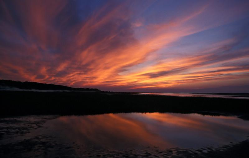 Sunset over Cape Cod Bay<br /> Cape Cod, MA