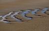 Ripples on the beach<br /> Topsail Island, NC