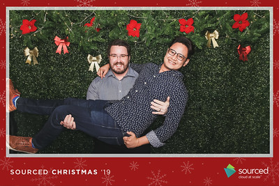 Sourced Group Christmas Party 2019   © SRSLYPhotobooth.sg