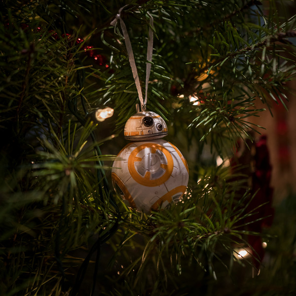 BB8 in the Christmas tree