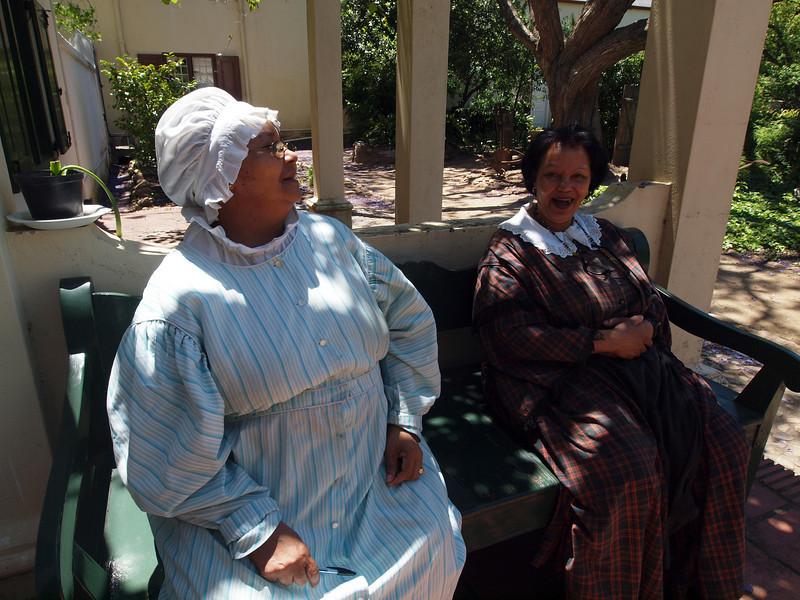 Interpreters at Stellenbosch Village Museum