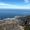 Capetown from Table Mountain Tramway
