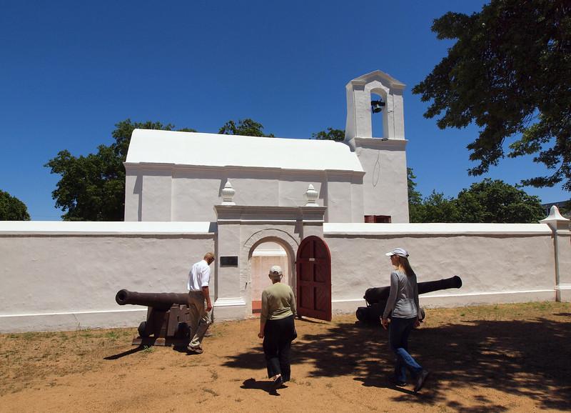The old Fort, Stellenbosch