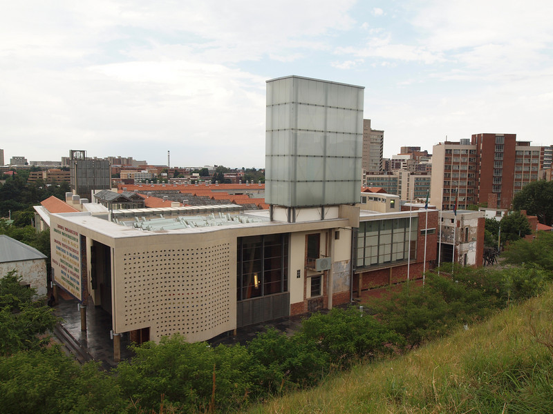 The South Africa Constitutional Court Building