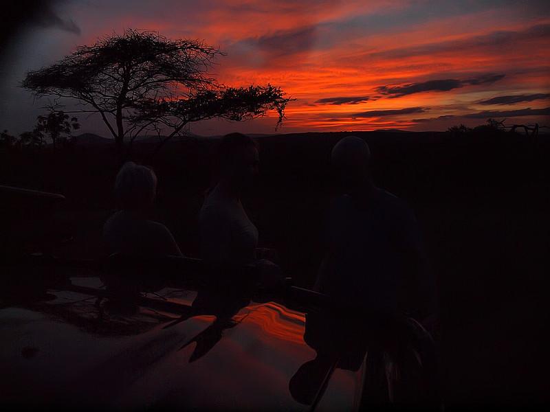Phinda Sunset