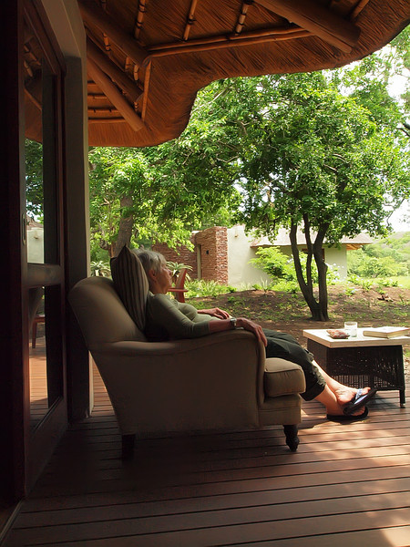 A warm afternoon at Zuka Lodge