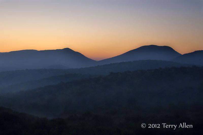 Sunrise-Magaliesburg-Mountains