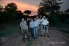 Kirkman's-Kamp-Safari-group at sundown