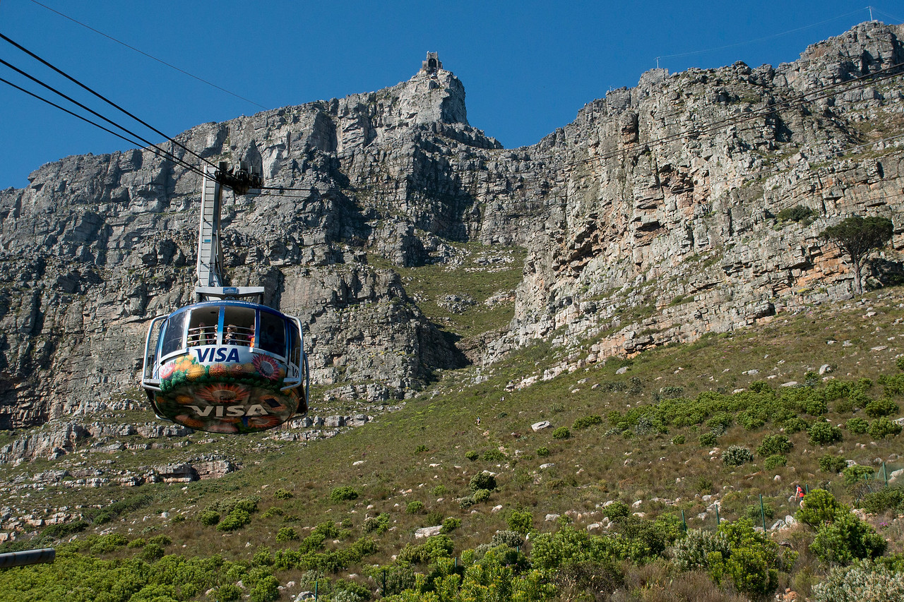 Table Mountain Tram Cape Town, South Africa