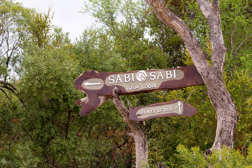 sabi sabi  lodge sign