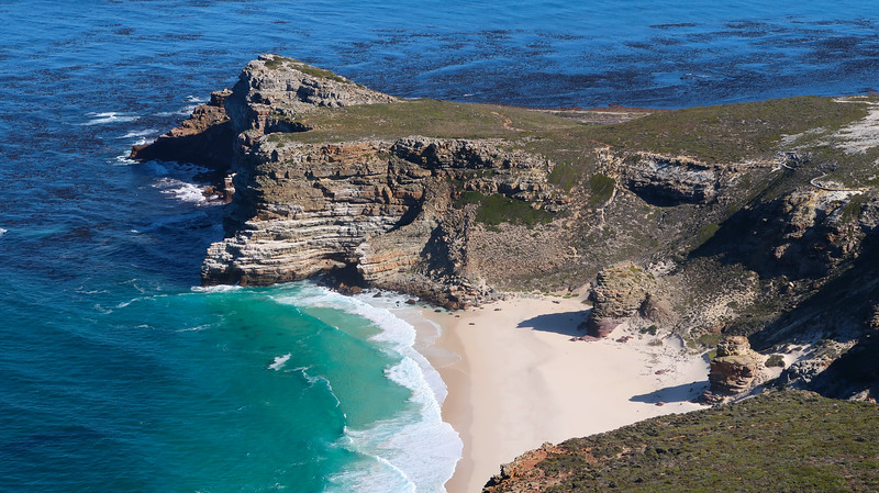 Beaches and rocky outcrops at Cape Point