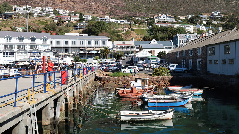The harbour in Simon's Town has lots of seafood restaurants.