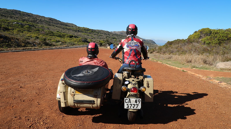 Sidecar tour of the Cape Peninsula