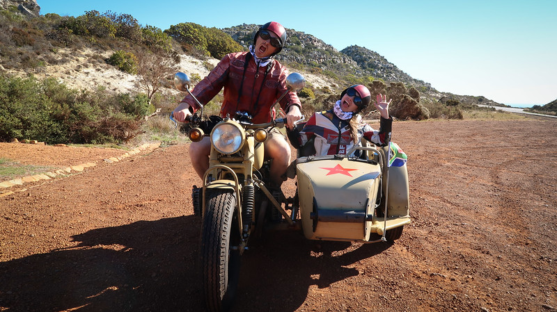 We really enjoyed our sidecar tour of the Cape Peninsula