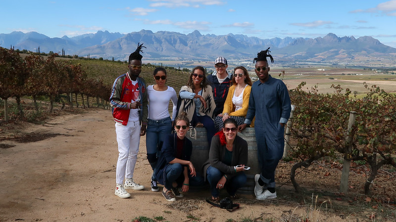 Friends on wine safari!
