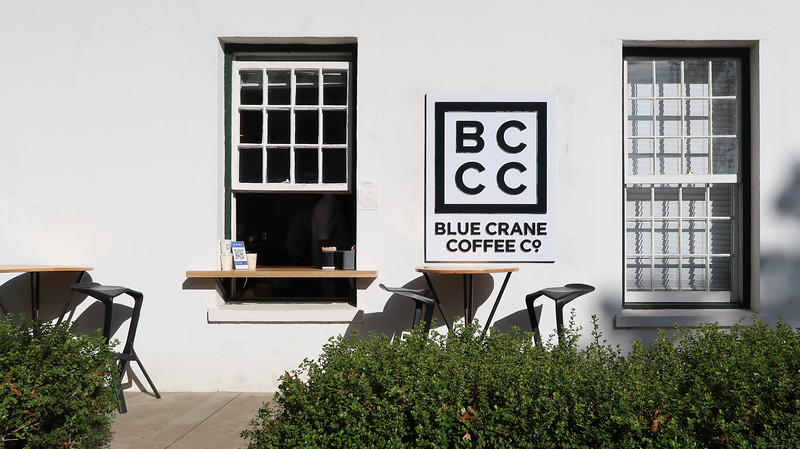 Coffee at the Blue Crane Coffee Company