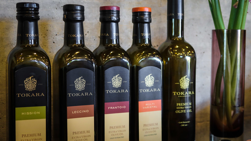 Tokara makes wines and its own olive oil