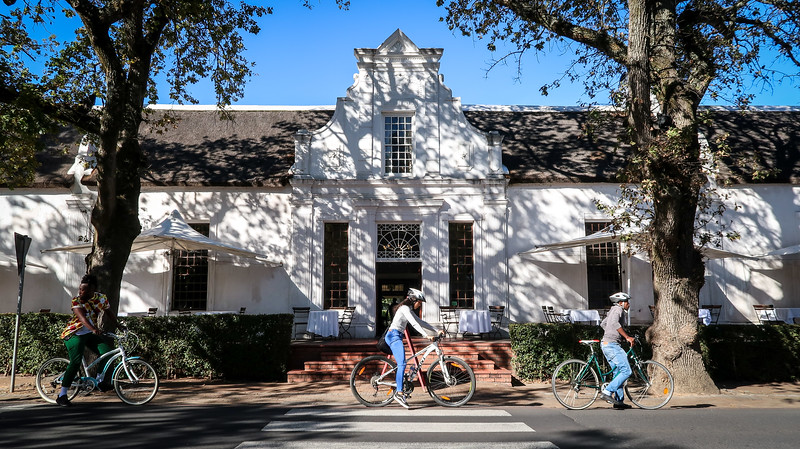 Biking tour in Stellenbosch, South Africa