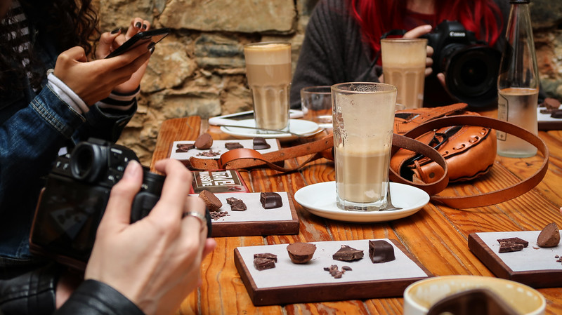 A chocolate tasting at Honest Chocolate in Cape Town