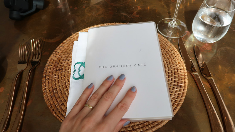 Lunch at The Granary Cafe in Cape Town