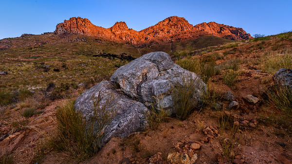 Mostertshoek Mountain, Wolseley, Western Cape