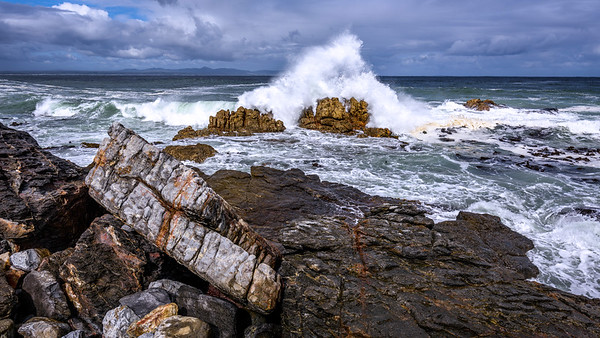 Coast near Hermanus, Western Cape