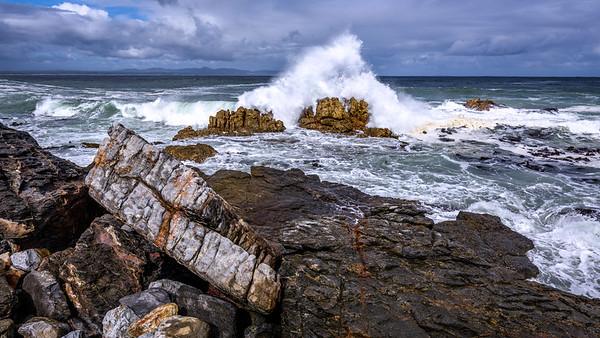 Coast near Hermanus, Western Cape