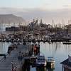 View of Simon's Town port from my window