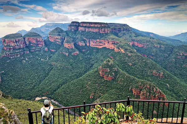 The Three Rondavels in Blyde River Canyon