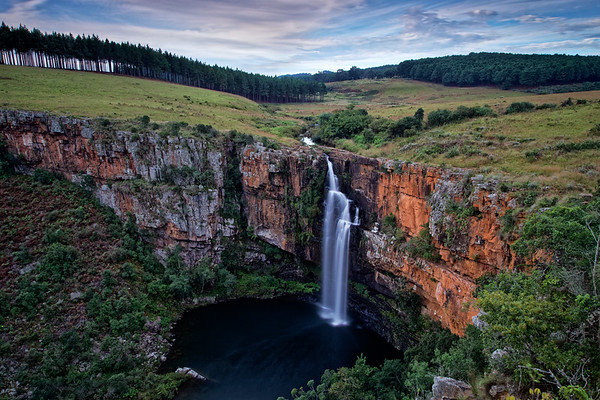 Berlin Falls near Graskop, South Africa