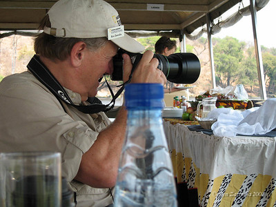 On the Chobe National Park wildlife river cruise