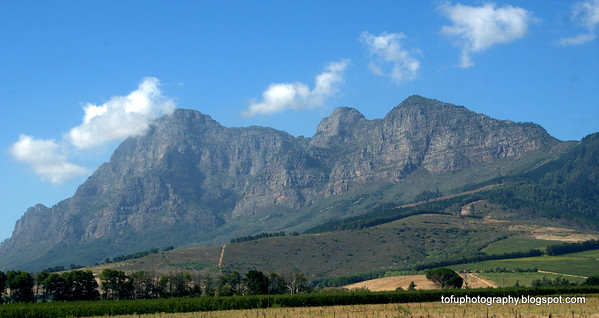 Franschoek district - February 2015