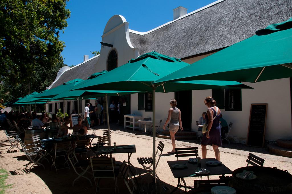 Jonkershuis Restaurant, Groot Constantia