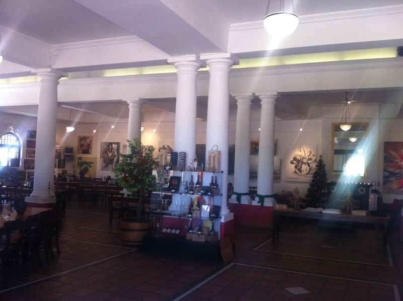 Groot Constantia Vineyard Wine Tasting House Interior