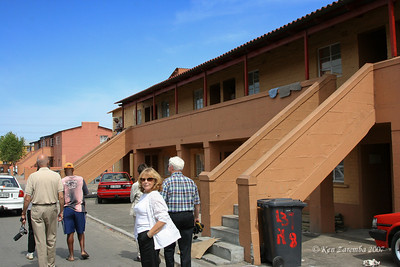 New style apaertments in Langa replacing old apartments