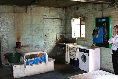 Kitchen area in old apartments in Langa