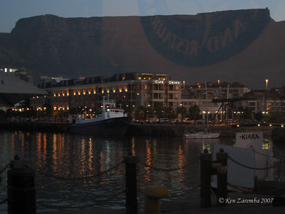 Cape Grace Hotel and Table Mountain, Cape Town