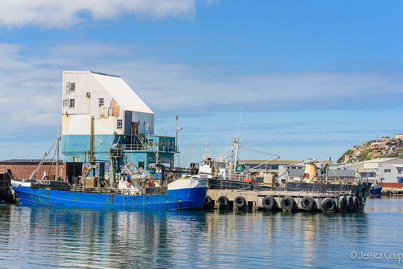 Dock at Hout Bay
