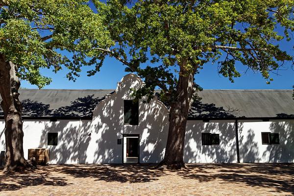 Cape Dutch architecture  at Spier Wine Farm, Stellenbosch