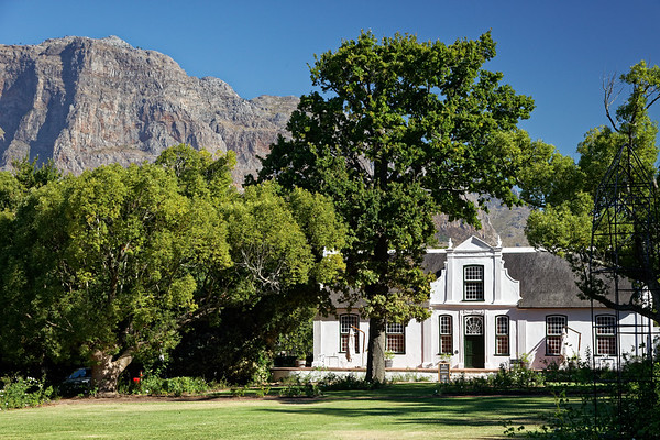 Boschendal Wine Farm near Stellenbosch