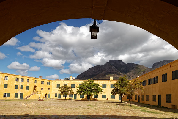 Courtyard in the Castle of Good Hope, Cape Town, the oldest colonial building in South Africa