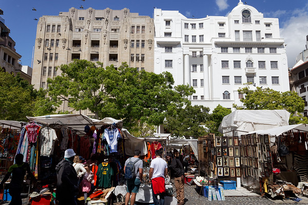 Market in Greenmarket Square