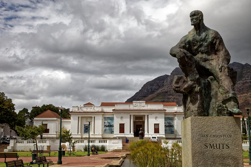 Jan Smuts statue by  Sydney Harpley at the South African National Gallery, Cape Town