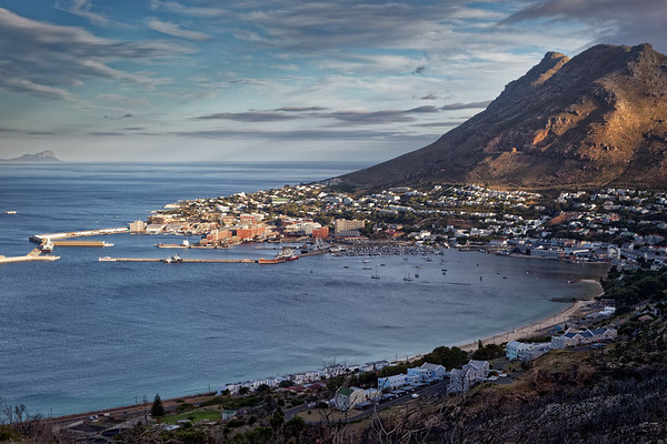 Simonstown, HQ of the South African navy, Cape Town