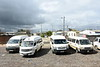 Township minibuses, near Durbanville, 13 September 2018.