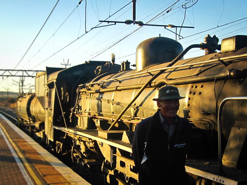 Steam Locomotive in Pretoria