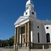 The Reformed Kerk along the crossroad that defines Colesberg.